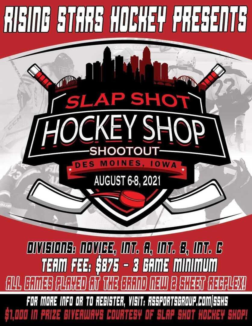Rising Stars Hockey Slap Shot Hockey Shop Shootout